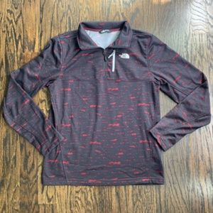 NEW! The North Face Black Printed Pullover